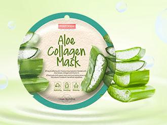 Free PUREDERM Aloe Collagen Mask