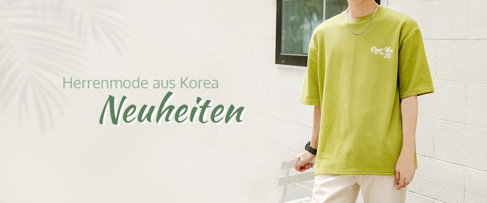 Herrenmode aus Korea Neuheiten