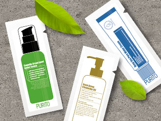 Free Beauty sample from PURITO