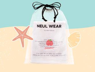 Free Beach Bag x Towel Set <br>from Peach C