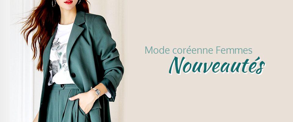 Mode coréenne femmes Nouveautés