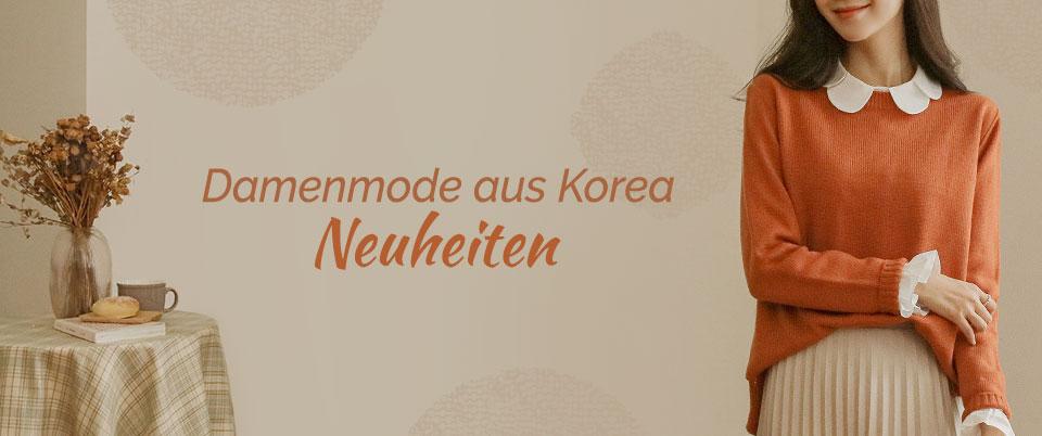 Damenmode aus Korea Neuheiten