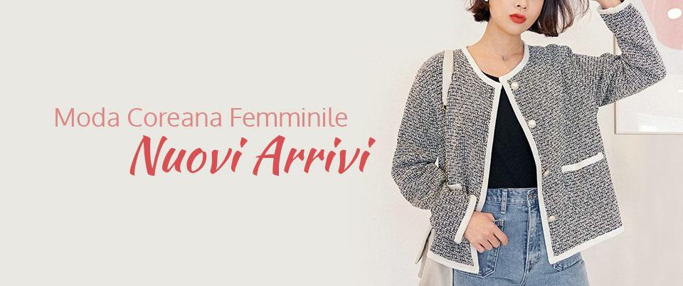 Moda Coreana Femminile Nuovi Arrivi